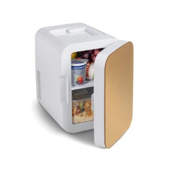 Blaine Desk Fridge - Gold